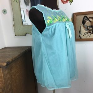 514b1bc84 Vintage Intimates   Sleepwear - Vintage Babydoll Nightie Lolita Kawaii 60s  Pajamas